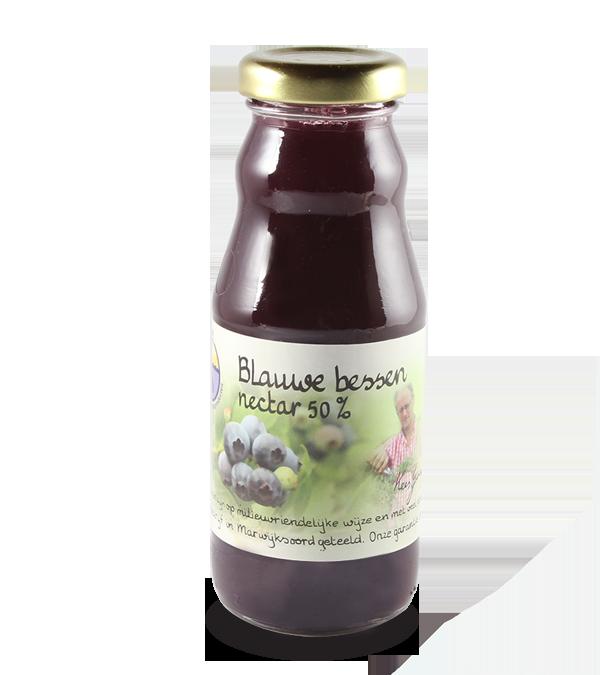 Blauwe bessennectar 50% (200 ml.)