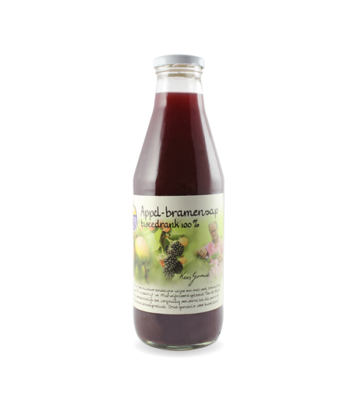 Appel-bramensap tweedrank 100% (750 ml.)