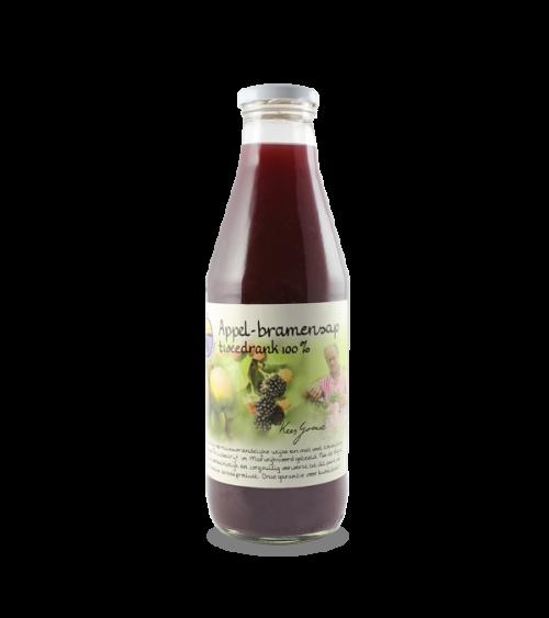 Appel-bramensap tweedrank 100% (750 ml.)