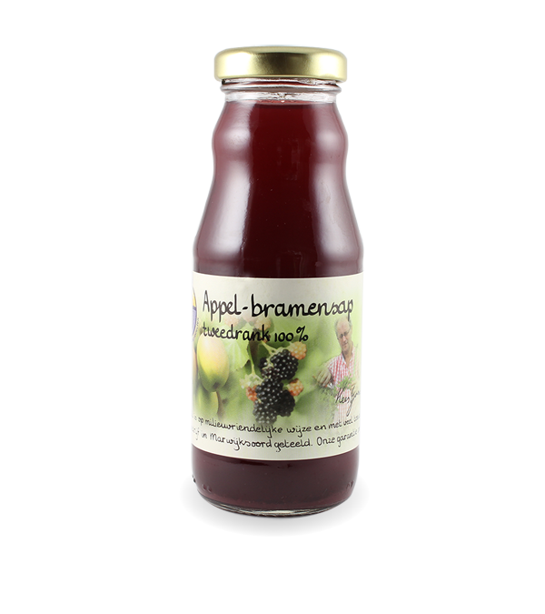 Appel-bramensap tweedrank 100% (200 ml.)