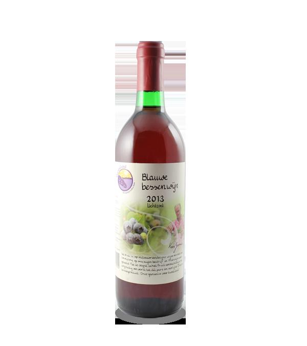 Blauwe bessenwijn (375 ml.)