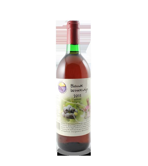 Blauwe bessenwijn (750 ml.)