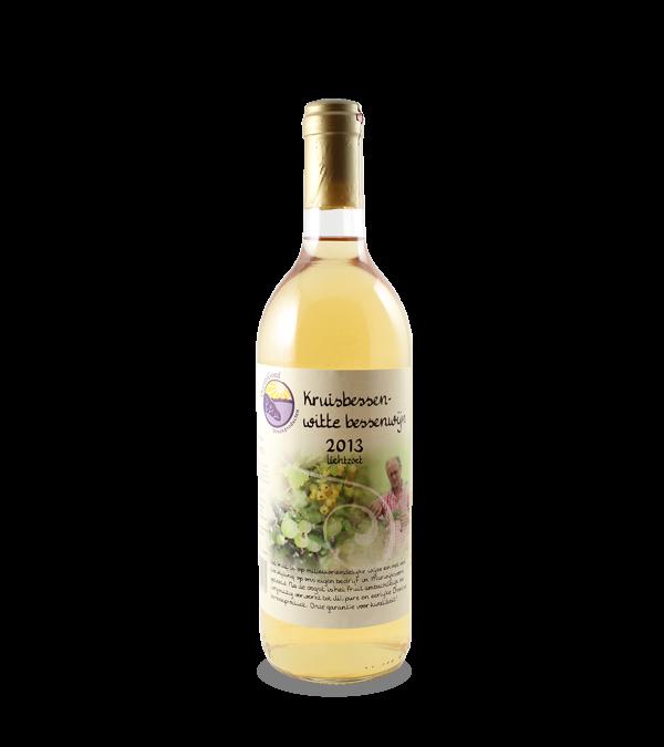 Kruis- en witte bessenwijn (750 ml.)