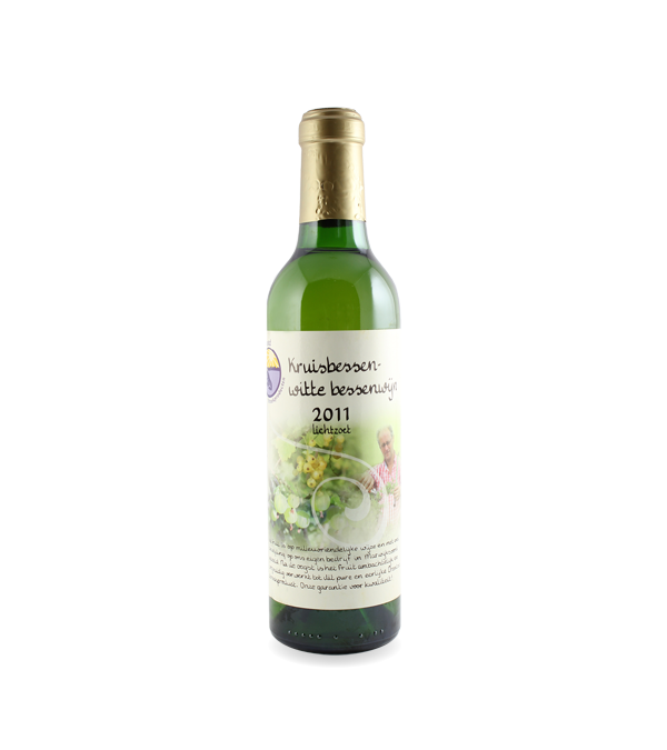 Kruis- en witte bessenwijn (375 ml.)