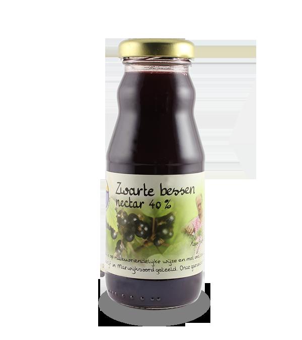 Zwarte bessensap 40% (200 ml.)