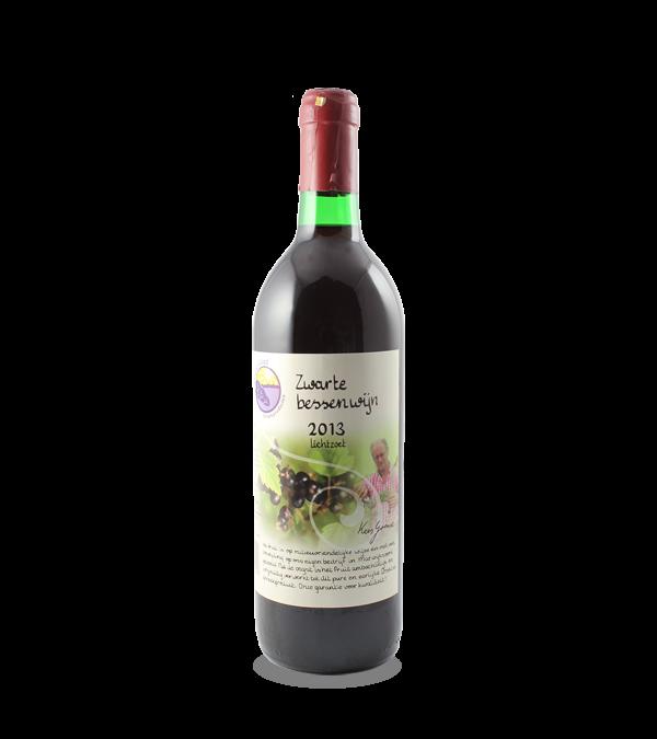 Zwarte bessenwijn (750 ml.)