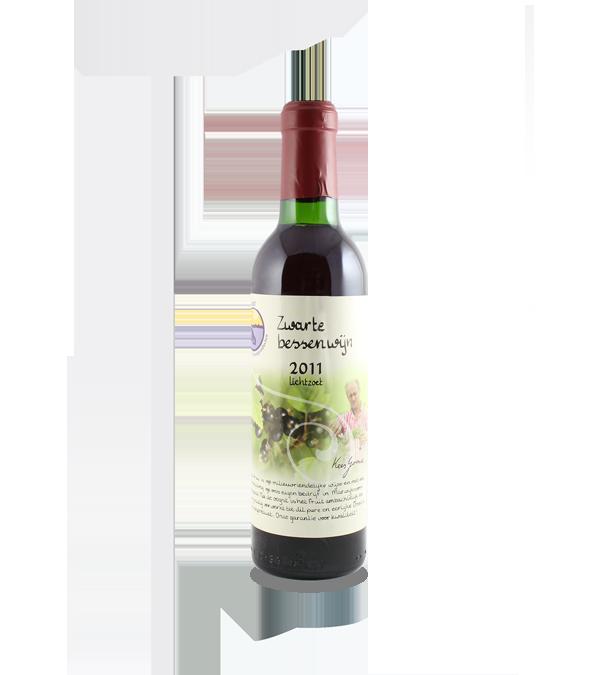 Zwarte bessenwijn (375 ml.)